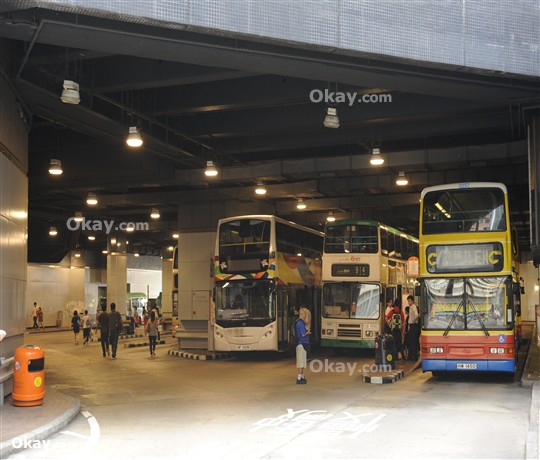 Bus Station beneath the Development