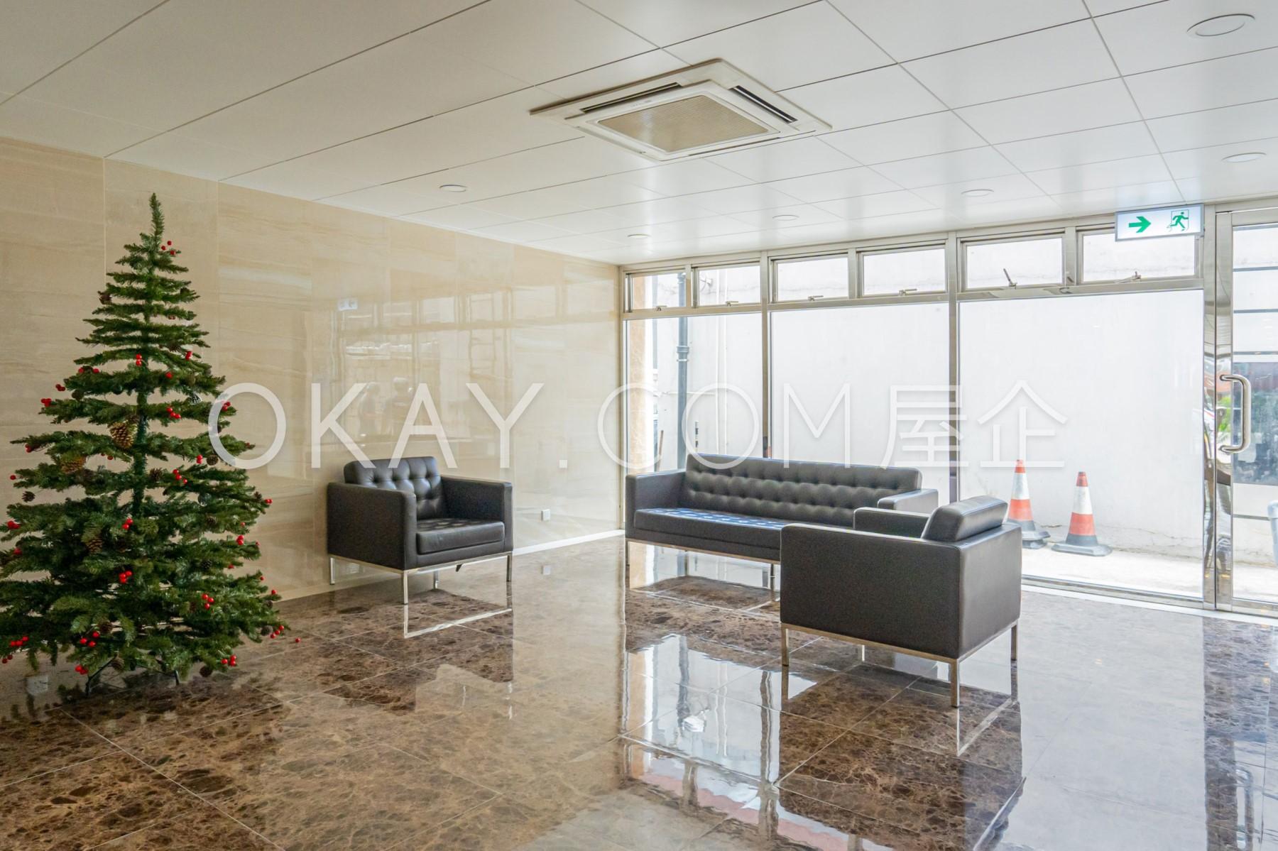 Lobby of Block F