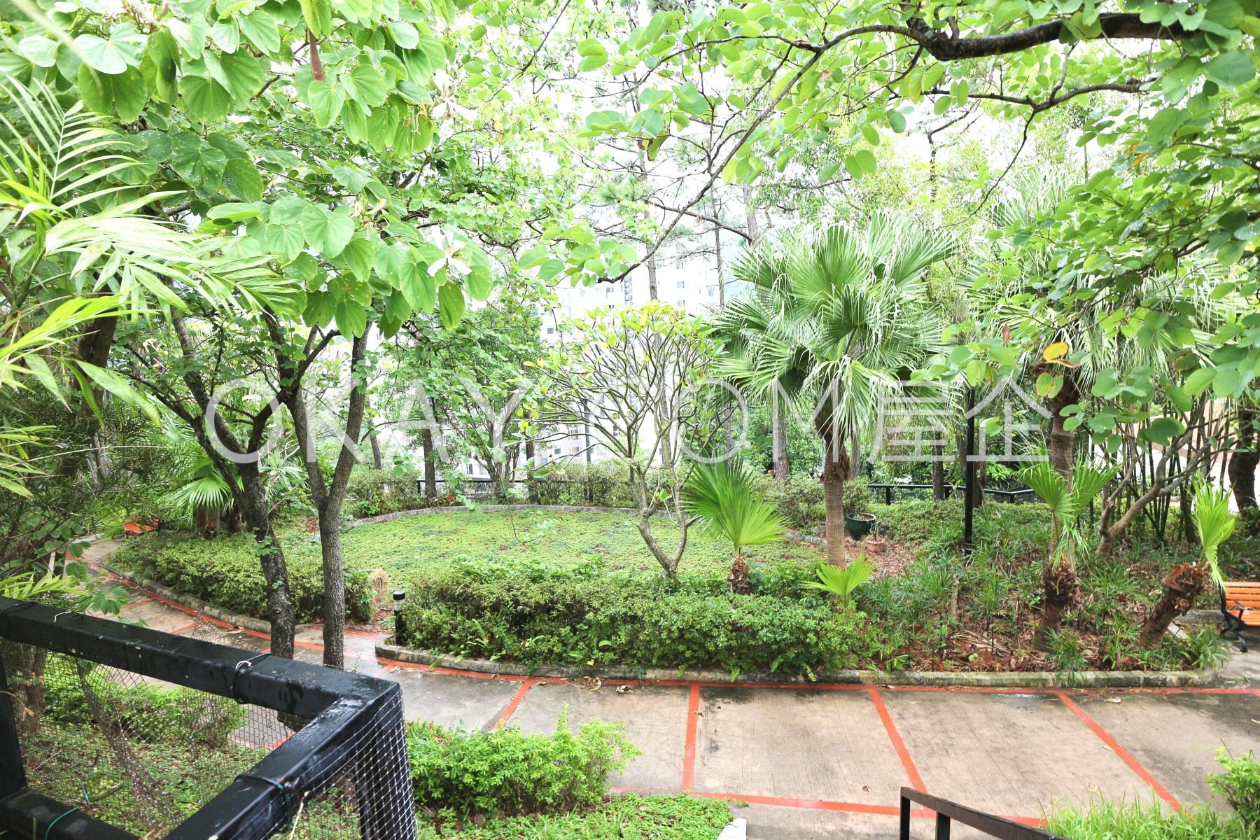 Public garden area