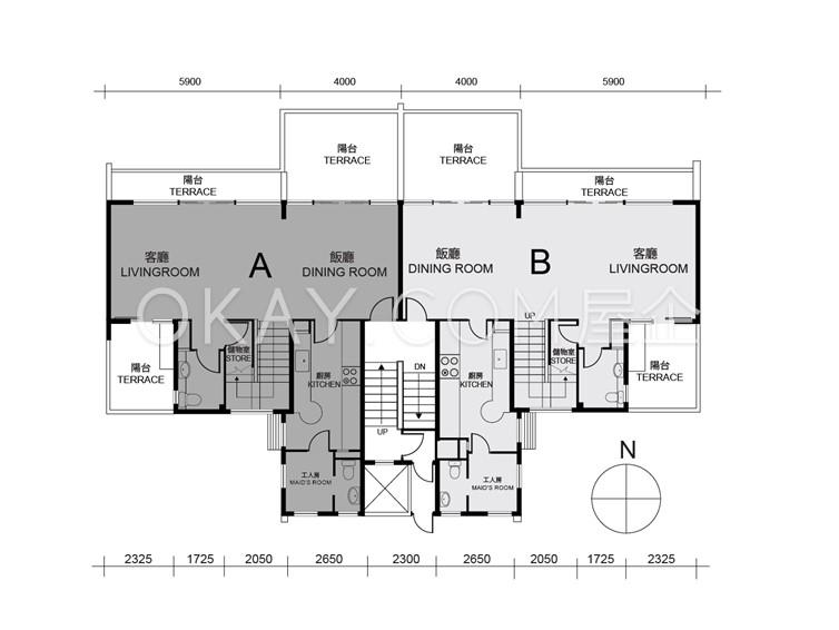 Block5-8 4F Lower Duplex
