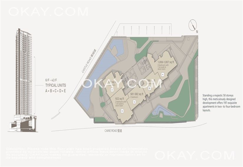 Floor Plan 6/F-42/F