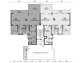 Block1-3+9-11 4F Lower Duplex