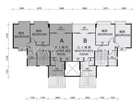 Block1-3+9-11 5F Upper Duplex
