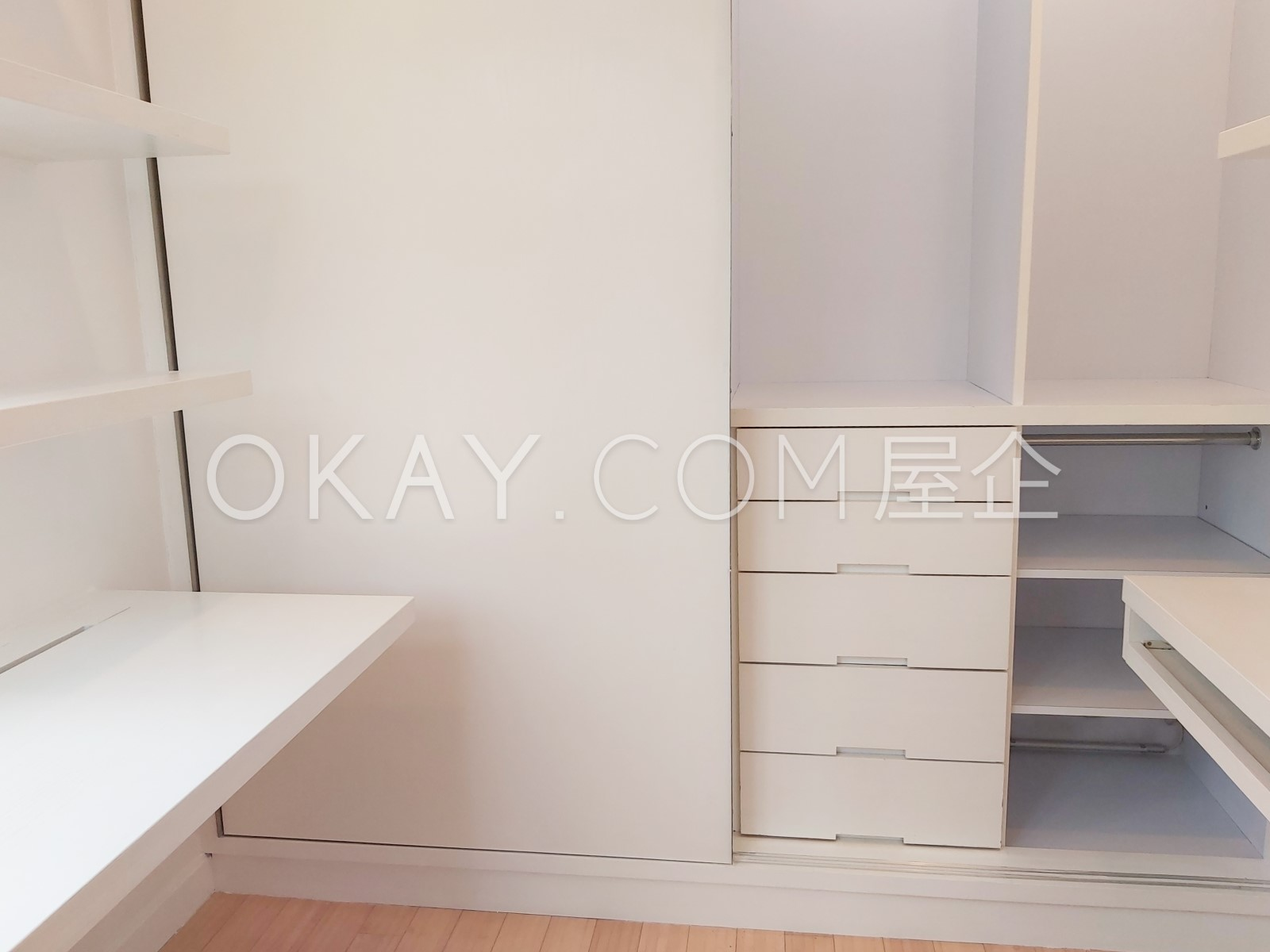 Closet in Master Bedroom