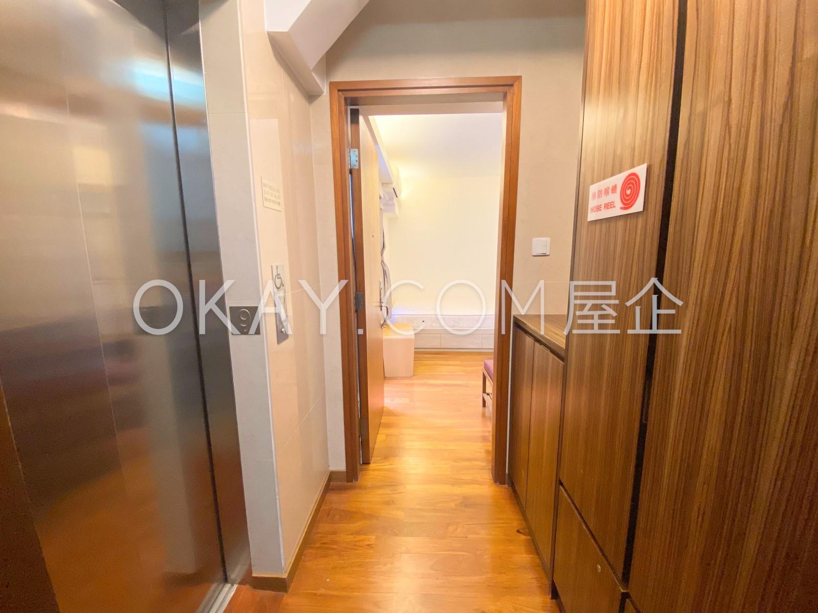one unit per floor with massive storage
