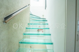 Glass Stairway to rooftop
