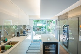 Kitchen with Glass Wall
