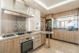 Kitchen with open window